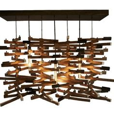 Repurposed pianos | RePurposed Bits / piano parts chandelier