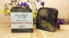 Sabão de chocolate e menta