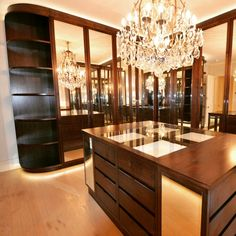 Bespoke fitted dressing room for private residence in Grosvenor Cres London handmade by alsans London