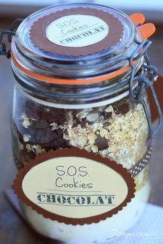 Kit SOS Cookies au chocolat