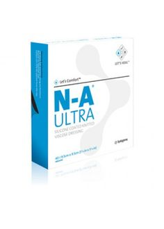 N-A Ultra is a primary wound contact layer dressing consisting of a knitted viscose rayon sheet with a silicone coating.