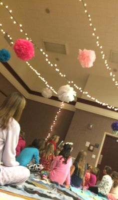 daughter of a king-mother daughter sleepover (Activity Days)