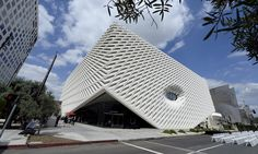 The Broad review – supersized cheese grater hits LA | Art and design | The Guardian