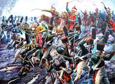 1805 12 02 Austerlitz, mamelucos vs regimiento Leibgvardiya Semyenovski - Aleksandr Yezhov