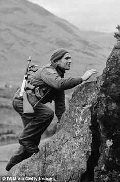 A British soldier from No. 1 Commando in 1941