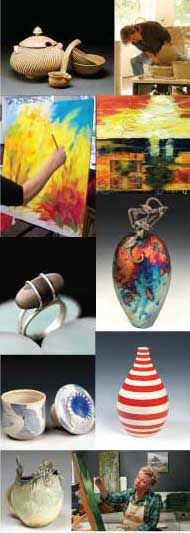 Michigan art by the Blue Coast Artists. Studio tours between Saugatuck and South Haven grants visitors a behind-the-scenes look into the studios and galleries of seven studio artists.