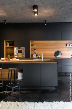 21 Modern Kitchen Suggestions Every Residence Cook Requirements to See Modern Kitchen Interiors, Luxury Kitchen Design, Kitchen Room Design, Kitchen Cabinet Design, Ikea Kitchen, Home Decor Kitchen, Interior Design Kitchen, Kitchen Island, Kitchen Designs