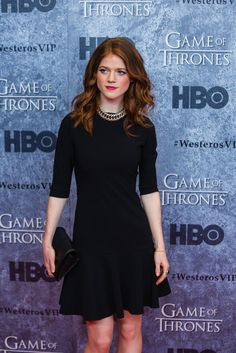 Pin for Later: 12 Stars Who Would Make Perfect Live-Action Disney Princesses Merida (Brave): Rose Leslie
