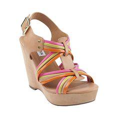 TAMPAA BRIGHT MULTI women's sandal high wedge - Steve Madden