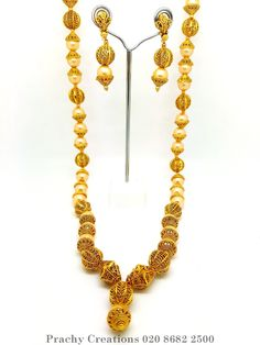 Long pearl Mala set - MA 23 - kv 0416