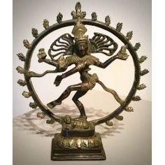 Beeld brons van dansende Shiva