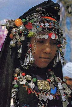 Africa | Girl from the south of Morocco | Scanned postcard; publisher DIFIKOT