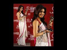 priyanka in manish malhotra Saree