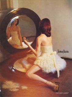 for-redheads : I love the giant powder compact with the girl sitting on the puff.so adorable, by Tim Walker. a Tim Walker rabbit hole Editorial Photography, Fashion Photography, Mirror Photography, Glamour Photography, Event Photography, Color Photography, Lifestyle Photography, Moda Pinup, Tim Walker Photography