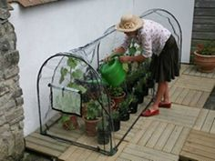 Grower Frame with Poly Cover - Growhouse For Plants