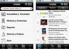 iVoox, el servicio de publicacion de archivos de audio, ya para iPhone y Android