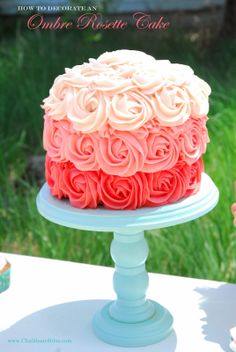 How to Decorate an Ombre Cupcake