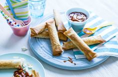 Feta Rolls and half term kid recipes