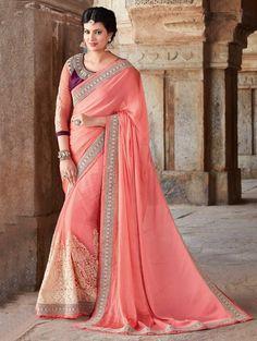 New Indian Embroidered Saree Linen Bollywood Fancy Ethnic Party Wear New Sari Lehenga Choli, Lehenga Style Saree, Anarkali, Bridal Lehenga, Red Lehenga, Heavy Lehenga, Indian Designer Sarees, Latest Designer Sarees, Indian Sarees