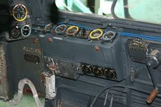 Detail of side panel Ju 88