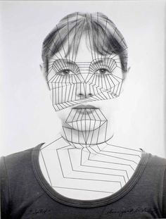 In the series 'Self German artist Annegret Soltau created striking embroidered self-portraits by stitching a thread over images of her own face. Self Portait, Face Threading, Cindy Sherman, Feminist Art, Portrait Illustration, Photo Postcards, Photomontage, Collage Art, Collages