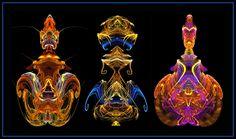 Three Perfume Bottles by mdichow on deviantART