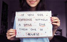giving smiles by ErinBird.deviantart.com on @deviantART