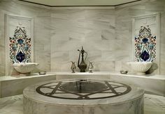 Turkish Hamam for authentic massage @ Ritz Carlton Turkey
