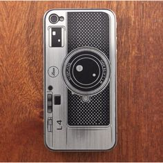 Camera Phone Case. You know how awesome this would look when your taking a sideways photo?!