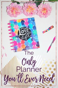 I had been feeling like an unorganized hot mess, and then I found this amazingly incredible planner! It's really the only planner you'll ever need!