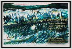 Raymond Pettibon - Surfers  | Venus over Manhattan