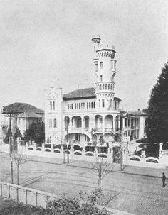Vila Adelaide na avenida Higienopolis entre as ruas Sabará e Itacolomi. 1911