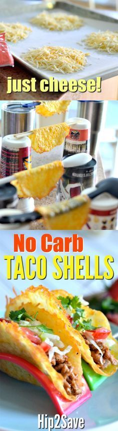 Eating Low Carb? Try these ONE Ingredient Cheese Taco Shells… – Hip2Save