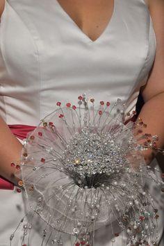 Custom made for Bride using Swarovski Crystals