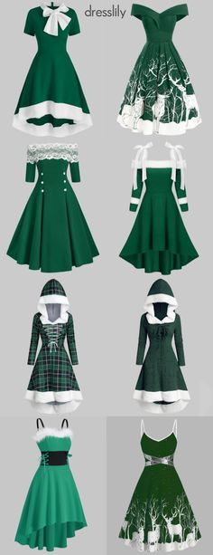 Vintage style Christmas dress for teens Women's Christmas Fancy Dress Outfits Casual, Teen Fashion Outfits, Dress Outfits, Casual Dresses, Fashion Dresses, Elegant Dresses, Ladies Outfits, Mini Dresses, Emo Fashion