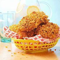 "Faux ""Fried"" Chicken #recipe"