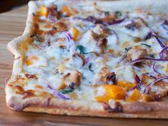 Grilled Bourbon Chicken Pizza