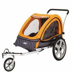 Black Friday InStep Quick N EZ Double Bicycle Trailer from Pacific Cycle Baby Bike, Dog Bike, Jogging Stroller, Baby Jogger, Cool Bike Accessories, Kids Bike, Cool Bikes, Mountain Biking, Bicycles