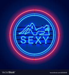 Neon sexy girl signboard vector image on VectorStock Neon Wallpaper, Disney Wallpaper, Neon Light Signs, Neon Signs, Neon Lights Party, Flexible Led Strip Lights, Neon Quotes, Aesthetic Light, Fancy Words