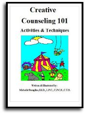 Counseling Activities eBook: Learn even more about Creative Counseling 101 techniques in this 159 page book. This colorful eBook has even more ideas to help you become the best Creative Counselor you can be! Play Therapy Activities, Therapy Games, Counseling Activities, School Counseling, Therapy Ideas, Speech Therapy, Therapy Tools, Kids Therapy, Counseling Worksheets