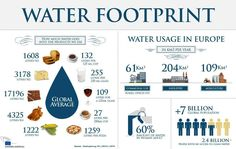 Water Footprint <Visual> by WaterFootprint.org/en/about-us/   The Water Network   by AquaSPE