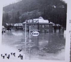 Welch, WV, 1957 flood.
