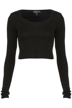 long sleeved crop top... lately i've just been using these to make anything long sleeved.