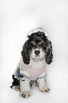 Luxuriöse  handgehäckelter Designerhundehut Bob von fraubOLZadesign,