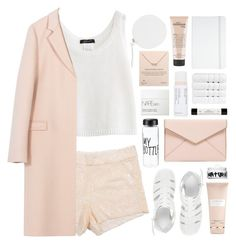 """""""dulcet"""" by martosaur ❤ liked on Polyvore featuring Christy, ASOS, Carven, shu uemura, Rebecca Minkoff, philosophy, Dogeared, NARS Cosmetics, MM6 Maison Margiela and Nature Girl"""