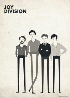 diseño grafico banda joy division