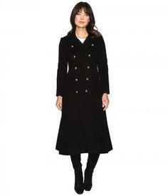 LAUREN Ralph Lauren - Military Maxi (Black) Women's Coat