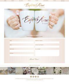 Modish Productions - Event Planner Website Design