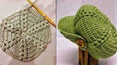 ARTE EM CROCHÊ, TRICÔ E ARTESANATOS: Boinas de lã em crochê com gráfico