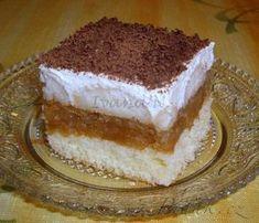 - Italské jablíčko s tvarohovým krémem Graham Crackers, Amazing Cakes, Nutella, Tiramisu, Sweet Tooth, Cheesecake, Deserts, Good Food, Food And Drink
